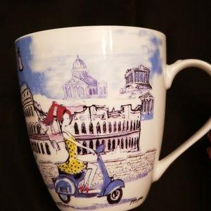 Pfaltzgraff Everyday 18oz coffee mug CUTE